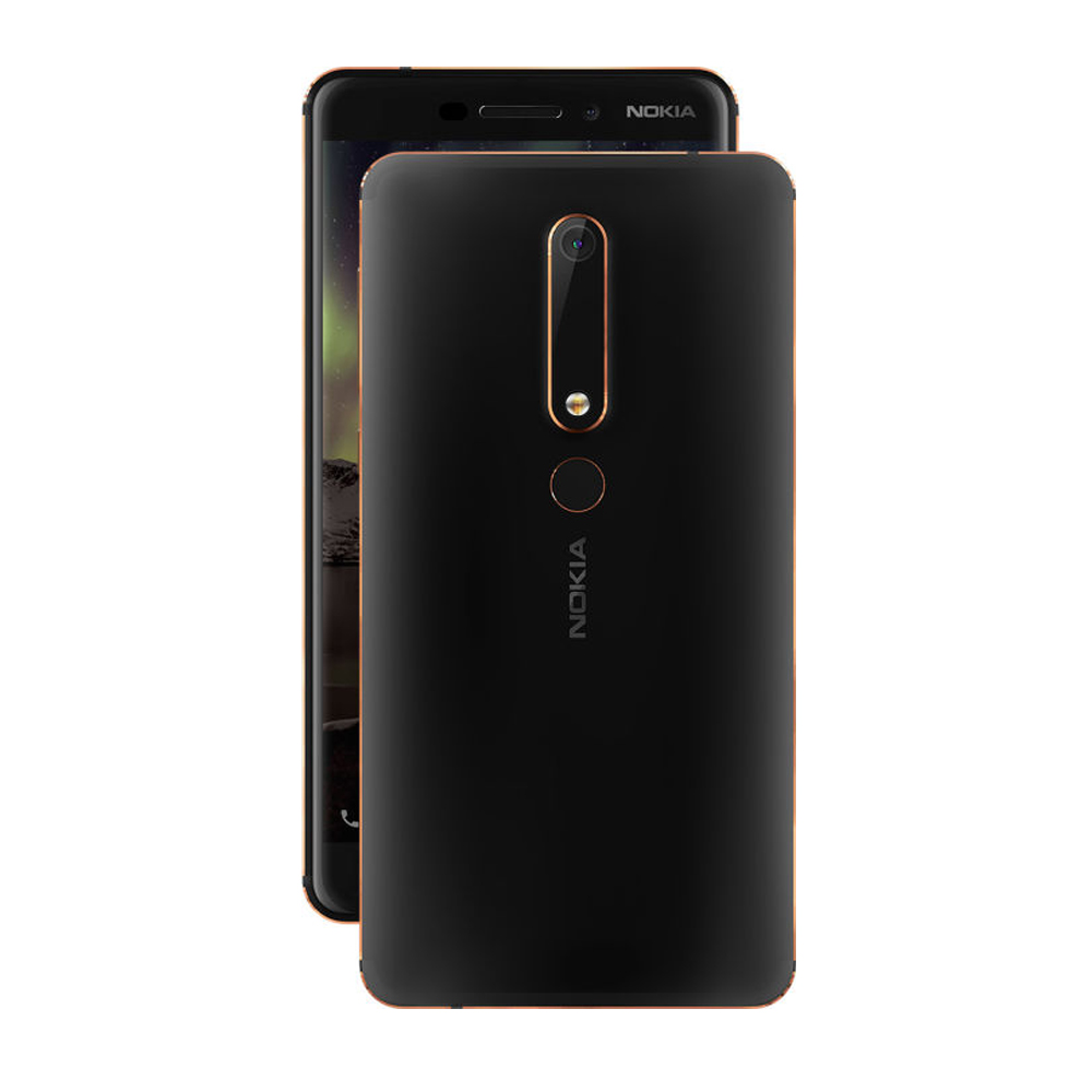 Original 2019 Nokia 6 2nd Second Generation 4GB 32GB/64GB Snapdragon 630 Octa Core Android 7 16.0MP 3000mah 5.5'' Mobile Phone