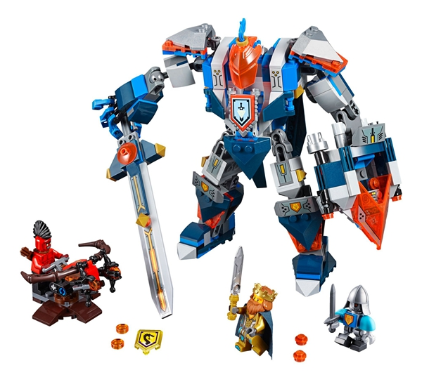 BELA Nexo Knights Axl The King's Mech Combination Building Blocks Kit Brick Classic Model Toys Kids Gift Compatible Legoe Nexus