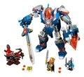 Lepin nexo axl caballeros del rey mech kits de juguetes de bloques de construcción de combinación de marvel compatible legoe nexus