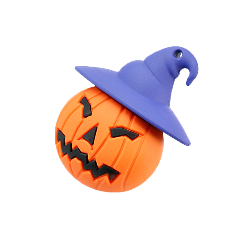 New Real Capacity Creative Halloween Pumpkin Beast USB 8GB 16GB 32GB 64GB Flash Memory Stick Pen Drive Disk For Halloween Gift