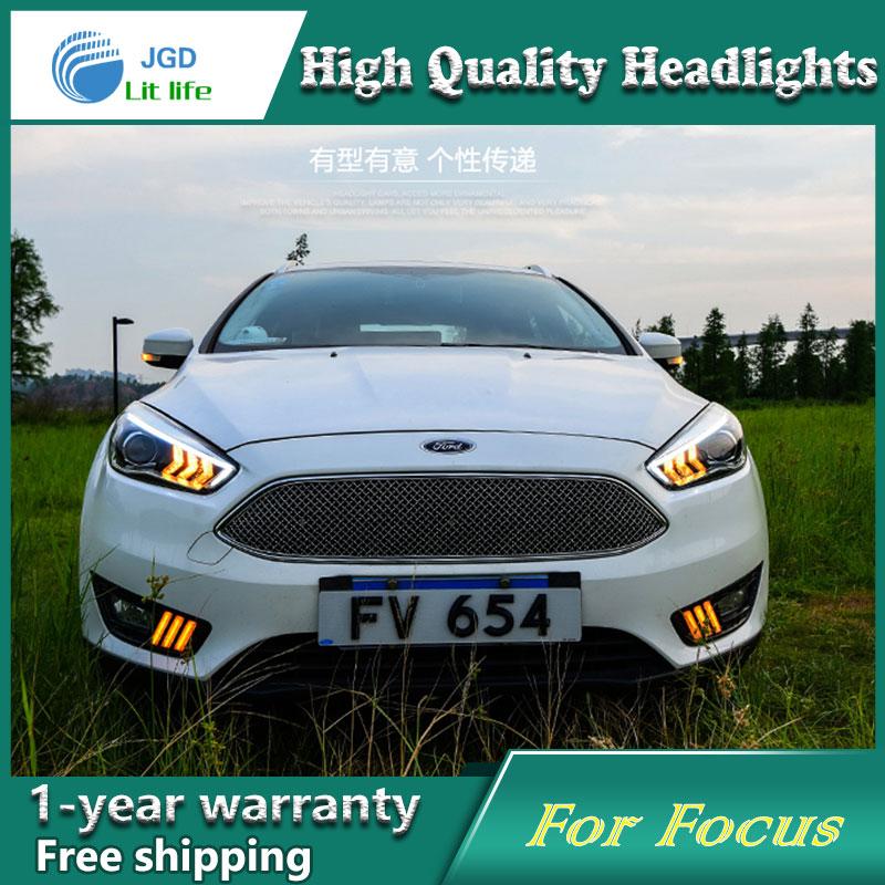 Ford Focus 2015 fənərləri üçün işıqlandırma üçün - Avtomobil işıqları - Fotoqrafiya 3