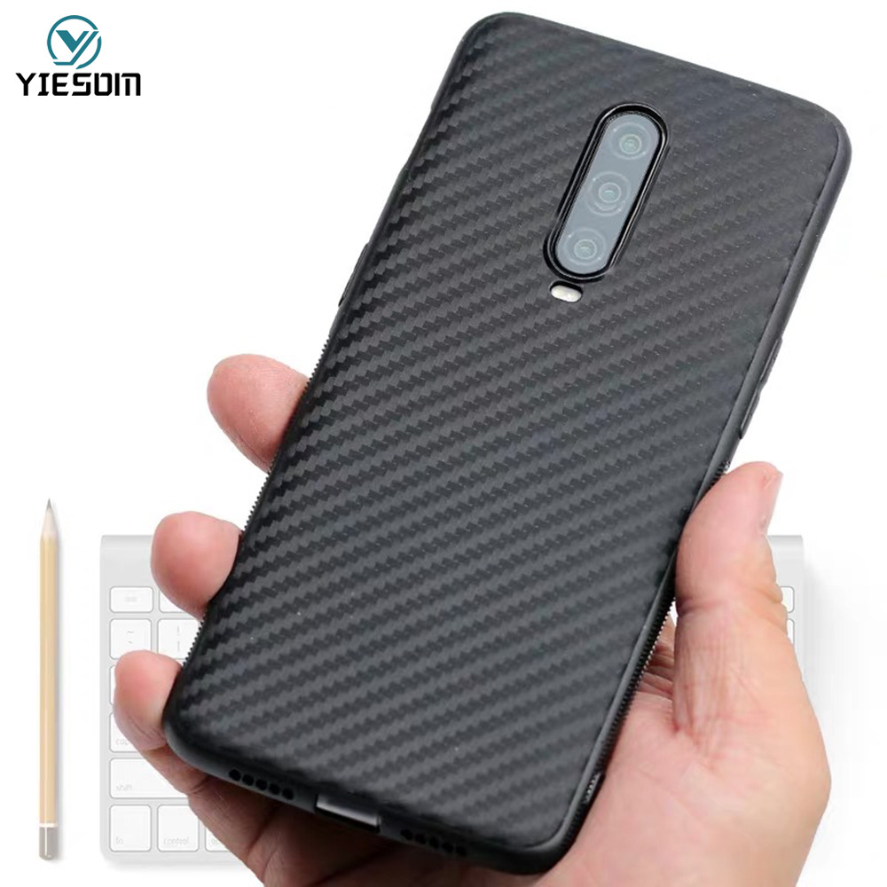 Carbon Fiber Case For Oneplus 7 Pro One Plus 6 6T 5T Ultra Thin Soft TPU Silicon Cases For One Plus 7 7Pro 1+7 Protective Cover