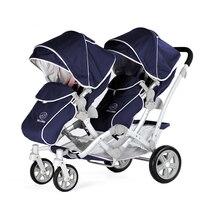 European version of the kids koalas twins stroller baby stroller double twins stroller