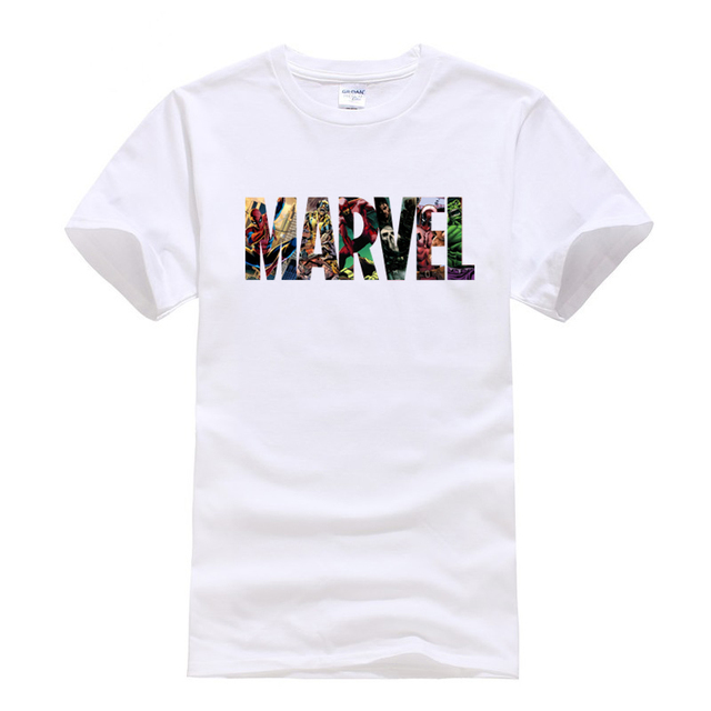 Marvel Superhero T Shirt...