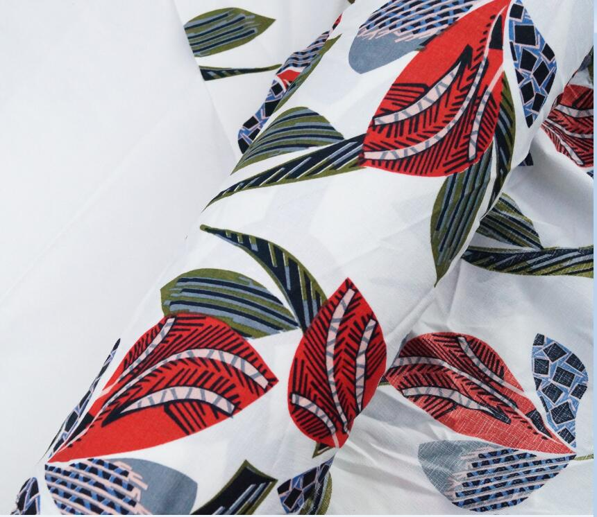 Leaves simple design D + Home Fabric international online fashion - Arts, Crafts and Sewing - Photo 2