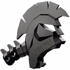 Image 2 - Hephis 3 قطعة كرة القدم سبارتا الجمجمة الكلب مفتاح سلسلة نقبل OEM/ODM DIY ميداليات مفتاح القوارير الجملة K1 K13 حر اختيار