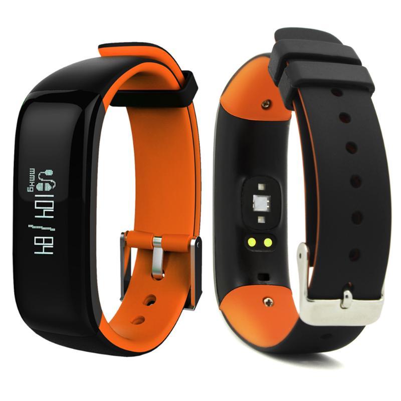 Étanche IP67 Bluetooth bande intelligente Bracelet montre tension artérielle santé sommeil moniteur moniteur de fréquence cardiaque Bracelet - 3