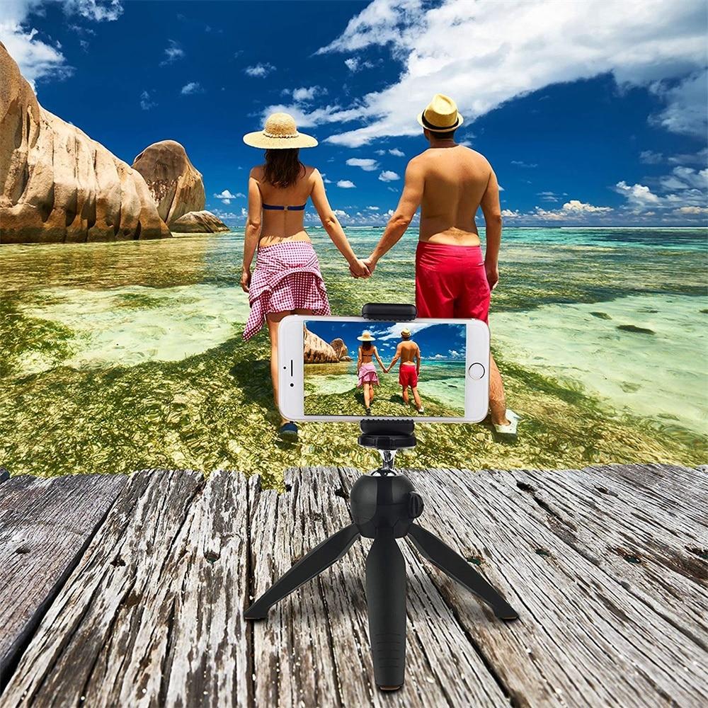 Phone Tripod Camera Stand Premium Mini Selfie Hand  Tabletop Tripod -9