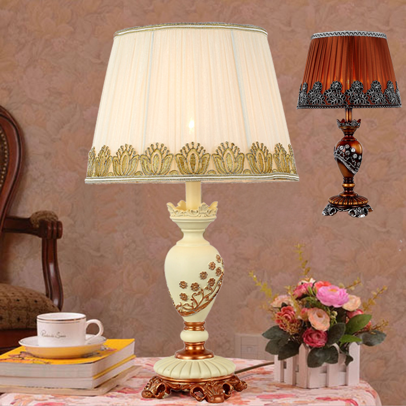 High End European Style Table Lamp Living Room Desk Lamp