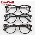 Marco óptico del acetato de moda nueva llegada de la alta calidad más populares de gafas de estilo retro gafas 6677