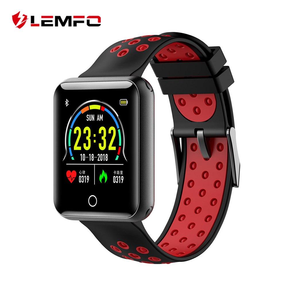 LEMFO Sport Watch 1.54 inch Screen IP68 Waterproof Activity Tracker Smartwatch B