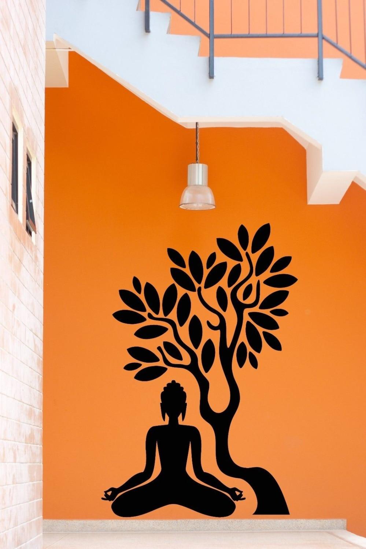 Wonderful Yoga Meditation Room Gallery Best Idea Home Design - Zen wall decalsvinyl wall decal yin yang yoga zen meditation bedroom decor