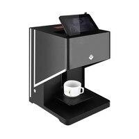 Máquina de impressão automática do café da impressora do bolo da arte do latte da cor de brown de wifi impressora de café com tabuleta