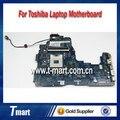100% motherboard laptop trabalhando para toshiba a600 a665 k000104250 nwqaa la-6061p hm55 sistema mainboard totalmente testado