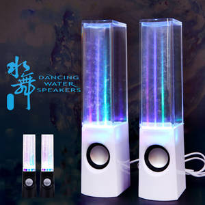 Computer Speakers Light Phone-Gadget-Accessories Fountain Laptop Music Dancing-Water