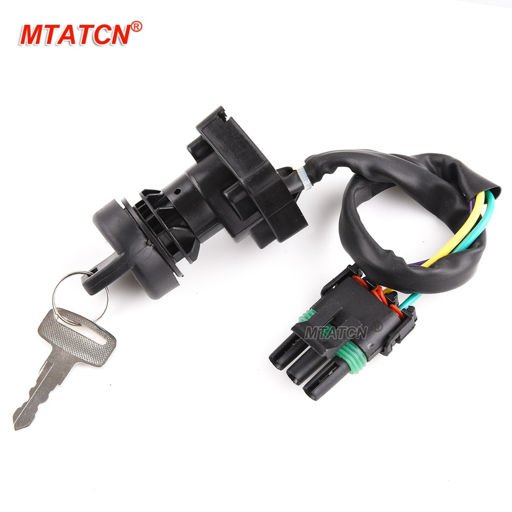Ignition Key Switch for BOMBARDIER CANAM TRAXTER 500 1999-2004