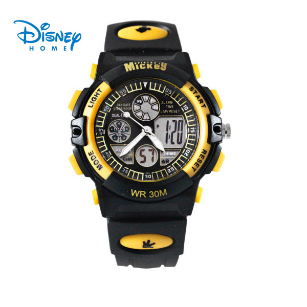 100% Genuine Disney Digital Watch luxury watch men Outdoor Wristwatches brand watch men relogio Sports Watches LP-PS021-8