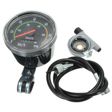 Mechanical Odometer Speedometer Resettable RPM For Bicycle Bike Motorcycle