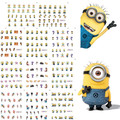 11 Sheets 11 styles BLE1852-1862 Nail Art Water Transfer Sticker Decals yellow Cartoon Design Stickers Wraps Tips Decoration