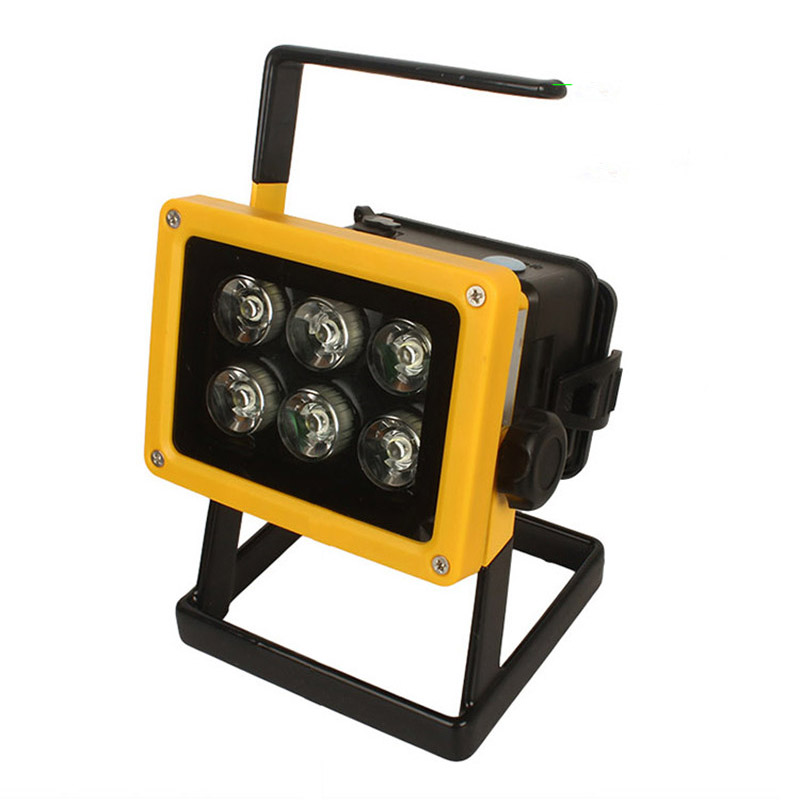 Outdoor Flood Lights Wont Turn Off: 10W Powerful 6LEDs Portable Spotlights Work Lights 3 Files