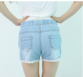 2015-New-Spring-Summer-Cotton-Jeans-Vintage-Light-Blue-Shorts -Junior-Girls-Lace-Hem-Plus-Size.jpg