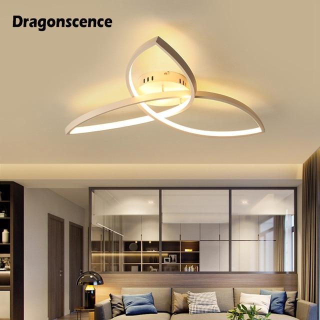Dragonscence Modern LED ceiling lights for living room bedroom kitchen Triangle LED Ceiling Lamp Fixtures Indoor lighting