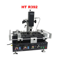 Honton HT R392 máquina de soldadura 3 zonas de temperatura bga estación de infrarrojos y de aire caliente sin plomo