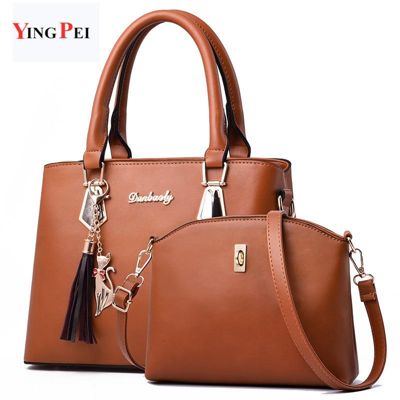 women bag Fashion Casual women's handbags Luxury handbag Designer Shoulder bags new bags for women Composite bag bolsos mujer