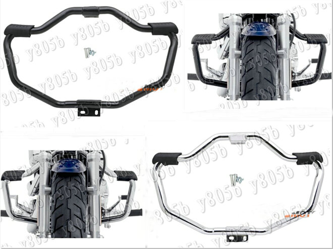 NEW Motorcycle Metal Engine Guard Crash Bar For Fit