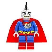 50pcs super heroes marvel dc comics model Justice League Unlimited Bizarro building blocks bricks friends hobby toys for boys