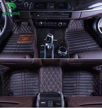 Top Quality 3D car floor mat for Honda Civic foot mat car foot pad 4 colors Left hand driver drop shipping