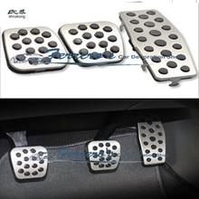 Педаль из нержавеющей стали на MT автомобильные аксессуары для Chevrolet Chevy Cruze седан хэтчбек/OPEL 09-15 Insignia/11-14 ASTRA J