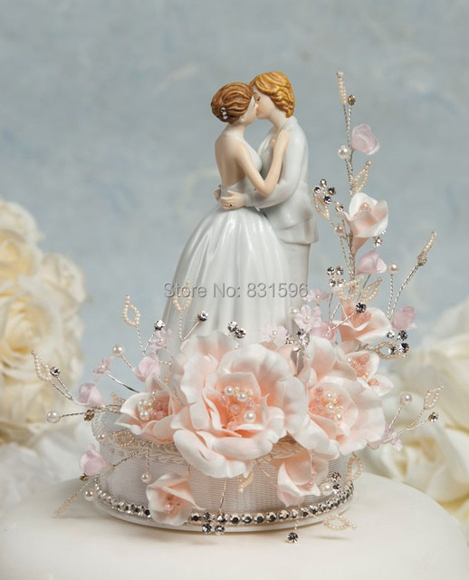 Aliexpress buy romance gay lesbian wedding cake topper cake romance gay lesbian wedding cake topper cake decoration accessories junglespirit Gallery
