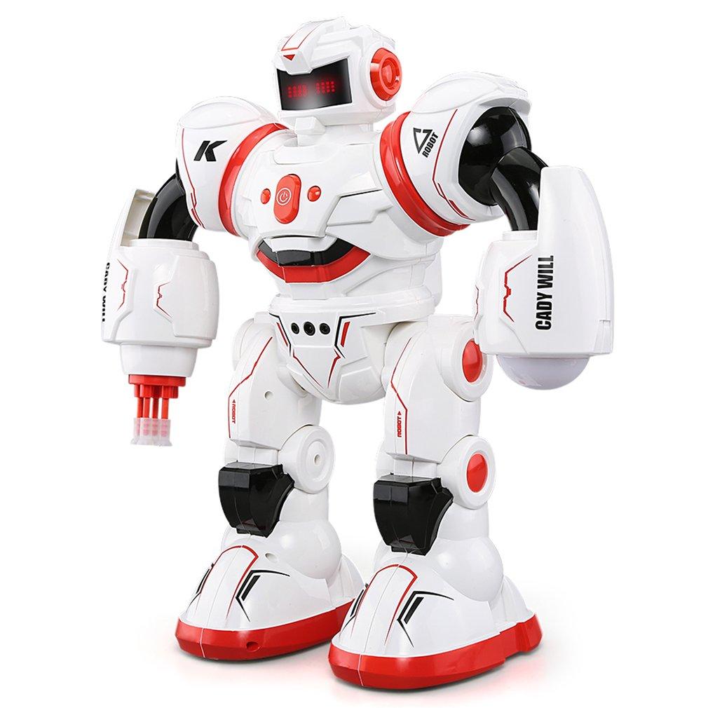 Robat Brinquedos Educativos Inteligente Musical Dança RC