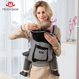 Image 5 - Drop shopping Real Canguru Baby Wraps  Ergonomic Baby Carriers Backpacks Sling Wrap Cotton Infant Newborn Carrying Belt For Mom
