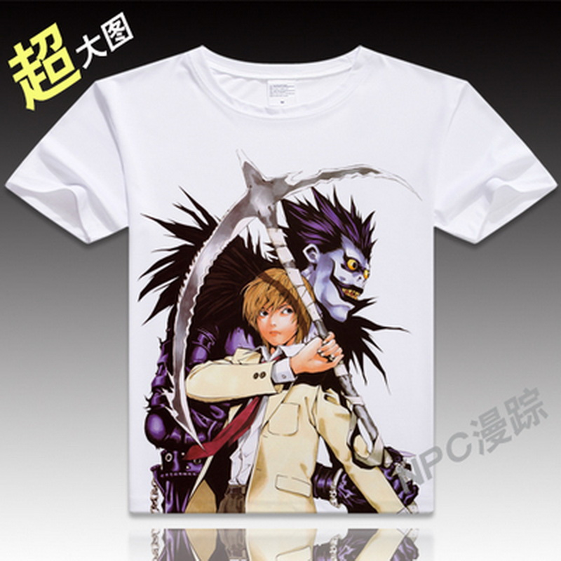 Tops & Tees T-shirts Japan New Death Note Unisex T Shirts Cotton Cool Anime Cartoon Short Sleeve T-shirt Camisetas T Shirt Mens Clothing Tee Top