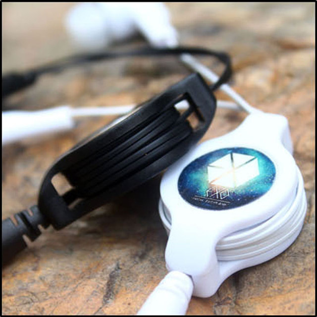 Anime Naruto Hokage Leaf Portable Earphone