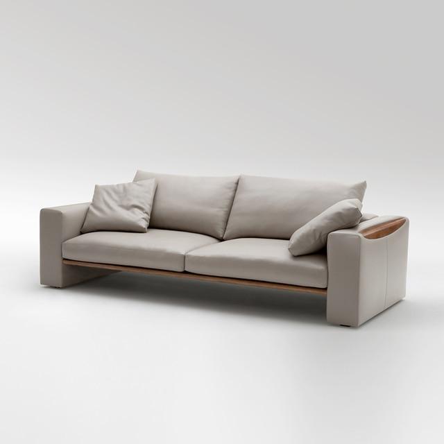 Design Mã¶bel Versand | Nordic Ikea Sofa Ledersofa Holz Sofa Master Design Modell Zimmer