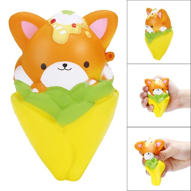 12 CENTÍMETROS Mole Kawaii Dos Desenhos Animados Urso Lento Nascente Creme Perfumado Para Aliviar O Estresse Squeeze Brinquedos Brincadeiras para As Crianças # K23