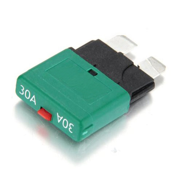 Car Styling 28v 30 Amp Blade Fuse Auto Reset Circuit Breaker Automatic Resetable Free Shipping