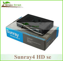 2 unids/lote Receptor de Satélite Sunray4 800se sr4 Rev D6 Sunray SR4 800SE DVB S (S2)/C/T sintonizador Triple Enigma2 wifi