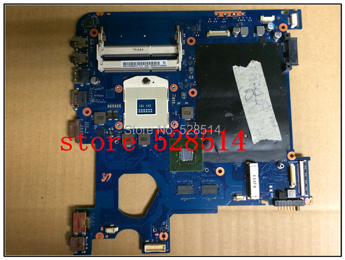 Original laptop motherboard for samsung series 3 np300E4A BA92-08436A BA41-01666A hm65 ddr3 100% Test ok