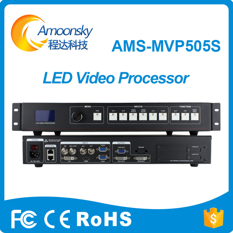 Led-Display-Screen Video-Processor Novastar MSD300 Card Linsn TS802D AMS-MVP505S Support