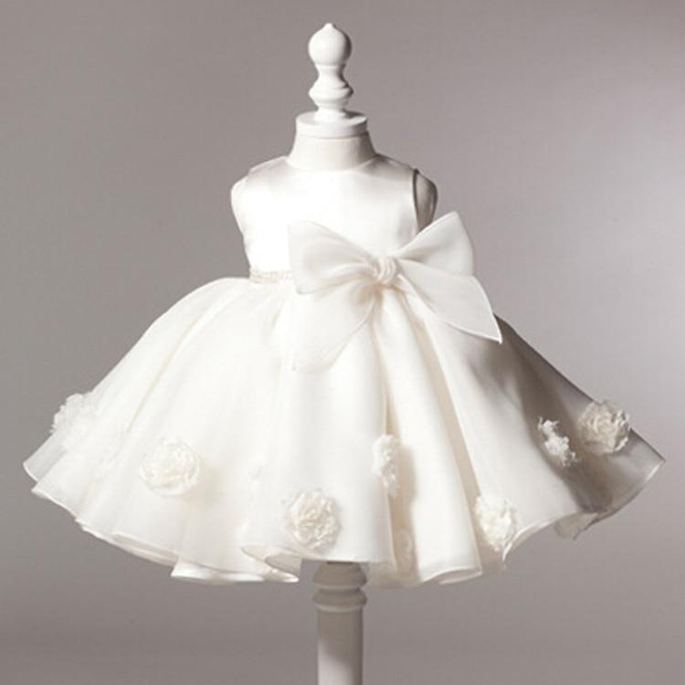 Popular Girls Christening White Dress-Buy Cheap Girls Christening ...