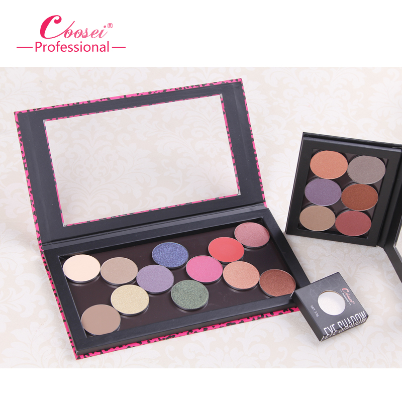 Blank Largest Z Empty Makeup Palette Magnetic Eye Shadow Case Cosmetic Organizer Makeup Storage Paleta De