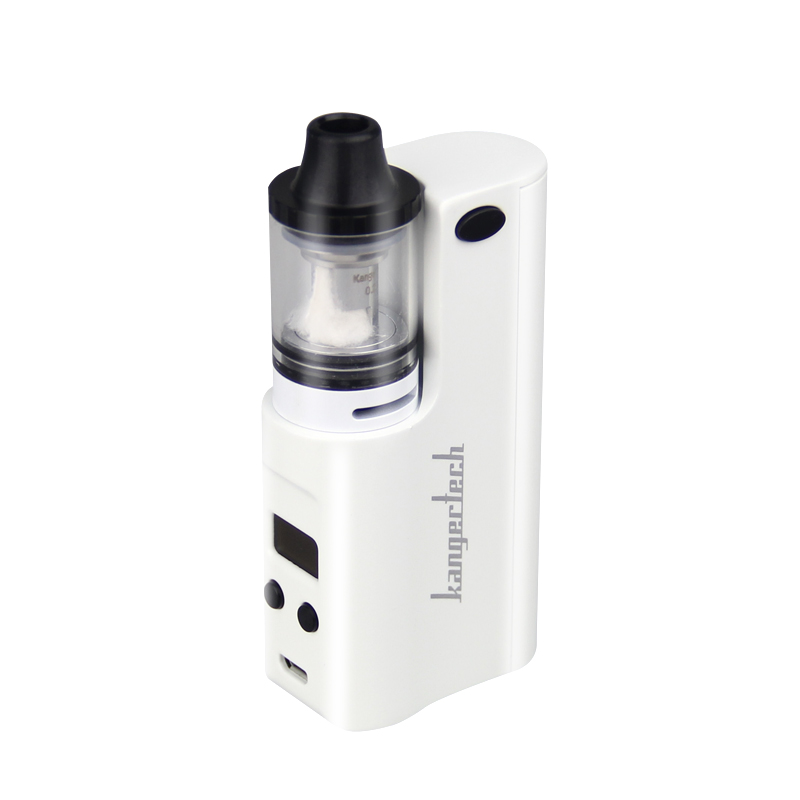 100% Original KangerTech JUPPI Starter Kit with 75W JUPPI Box MOD and a 3ml JUPPI Tank Atomizer E-Cigarette Kanger JUPPI Kit