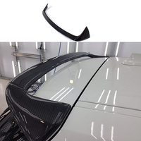 AC style Carbon fiber rear roof spoiler wings for BMW 1 series F20 116i 118i 120i 125i 128i 2012~2014