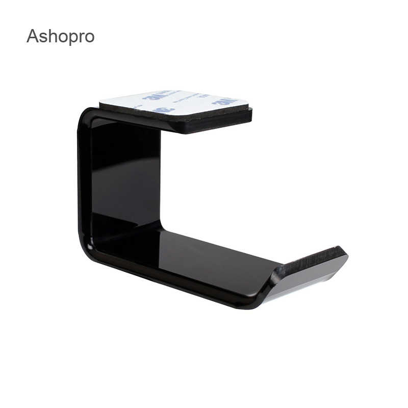 Hot Universal Headphone Holder Rack Headphones Hook Headsets Stand Hanger Wall Mount Earphone Accessories High Quality