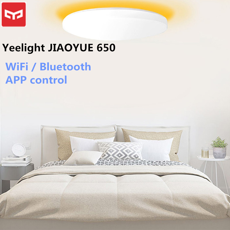 Xiaomi Yeelight JIAOYUE 650 Ceil lumière WiFi/Bluetooth/APP contrôle intelligent entourant l'éclairage ambiant LED plafonnier 200-240 V