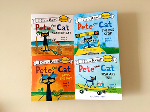 Image 5 - 12pcs/set I Can Read pete the cat English Picture Books Children story book Early Educaction pocket reading book 13x13 cm